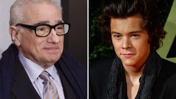 Martin Scorsese and Harry Styles