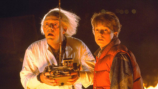 >That '80s classic Back to the Future is screening at Stanley Park's Ceperley Meadow.   — submitted Photo