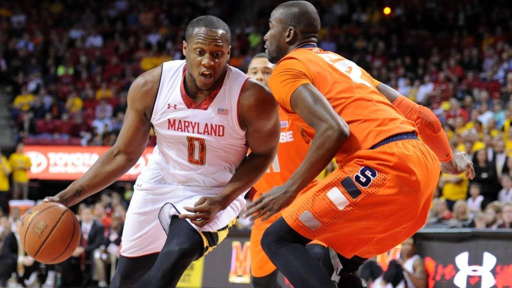 Syracuse v. Maryland basketball