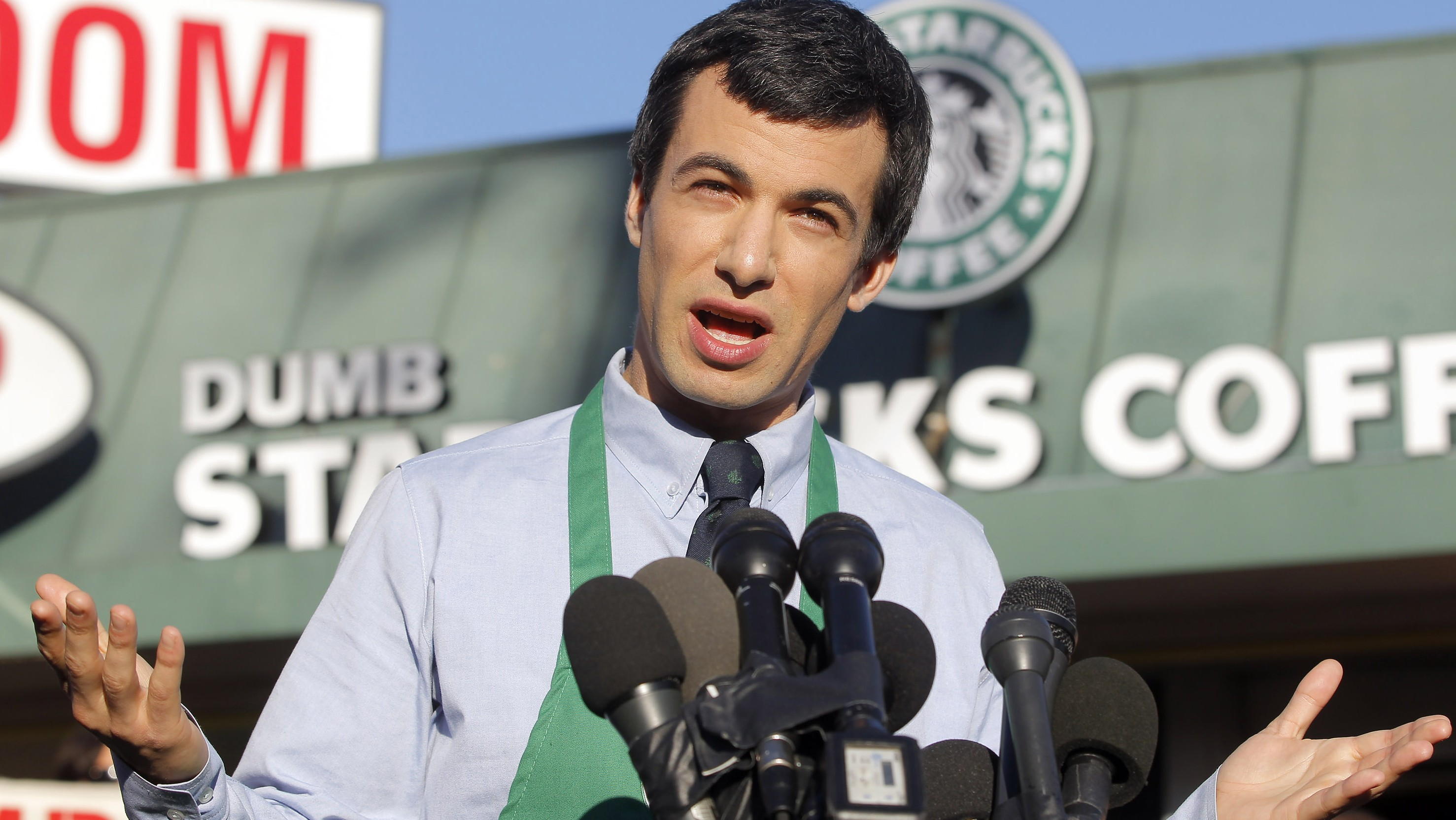 Confirmed: Nathan Fielder Is Behind Dumb Starbucks, and