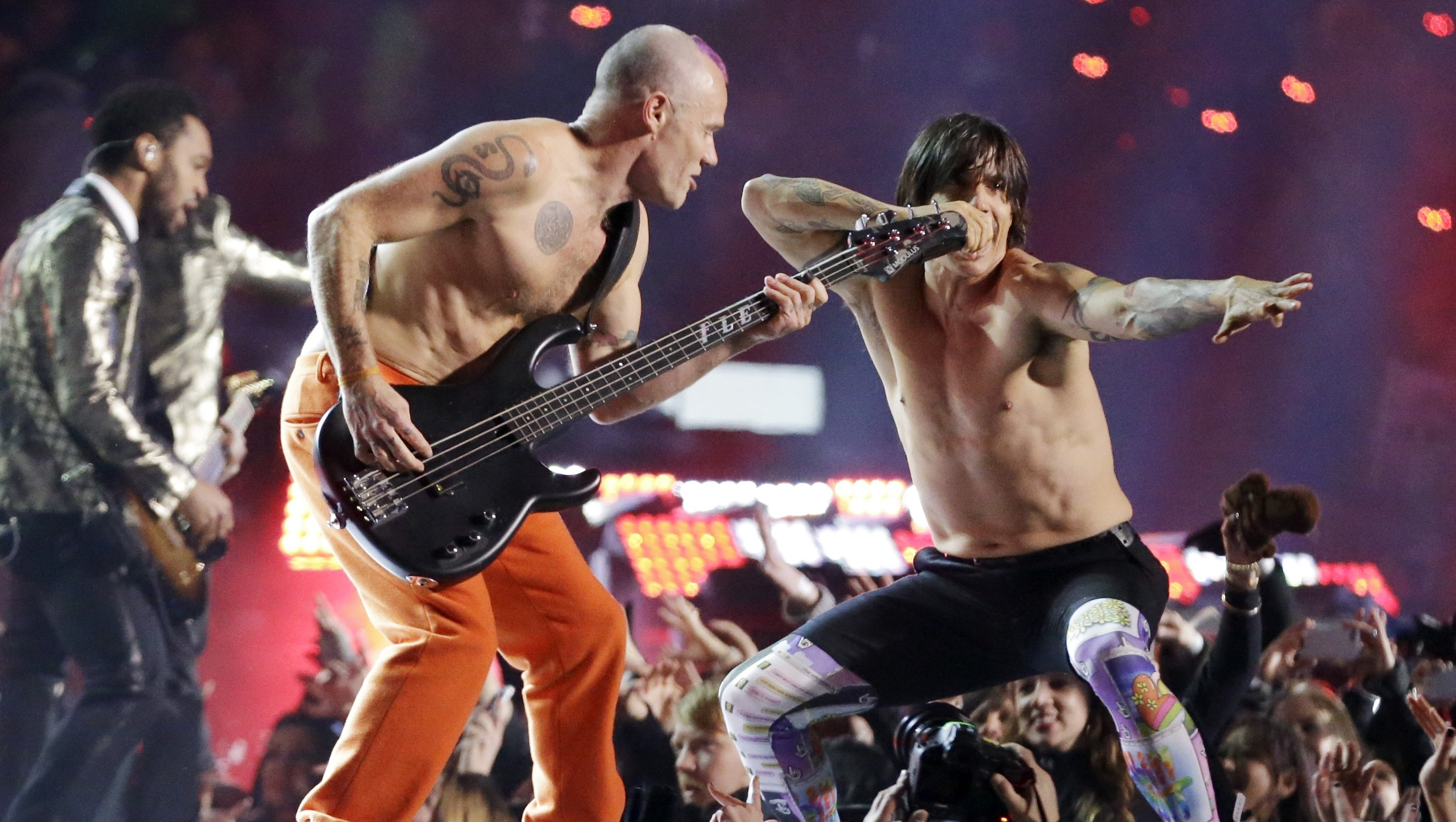 » The Red Hot Chili Peppers: Air Guitar Champions