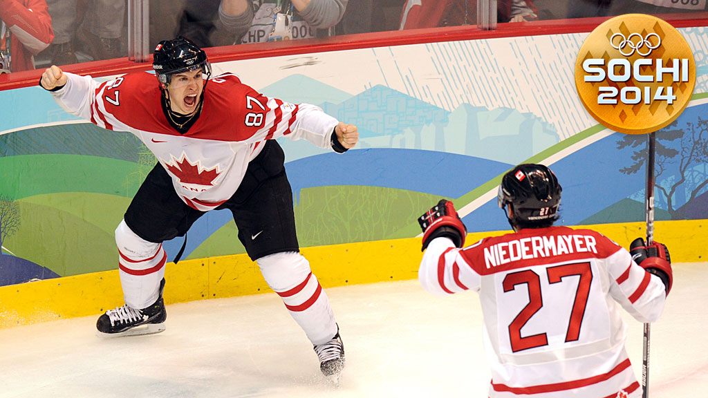 Canadian forward Sidney Crosby