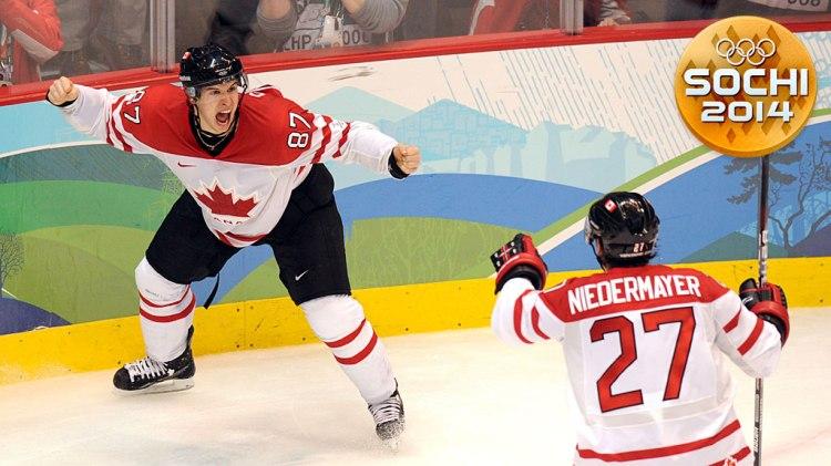 Canadian forward Sidney Crosby