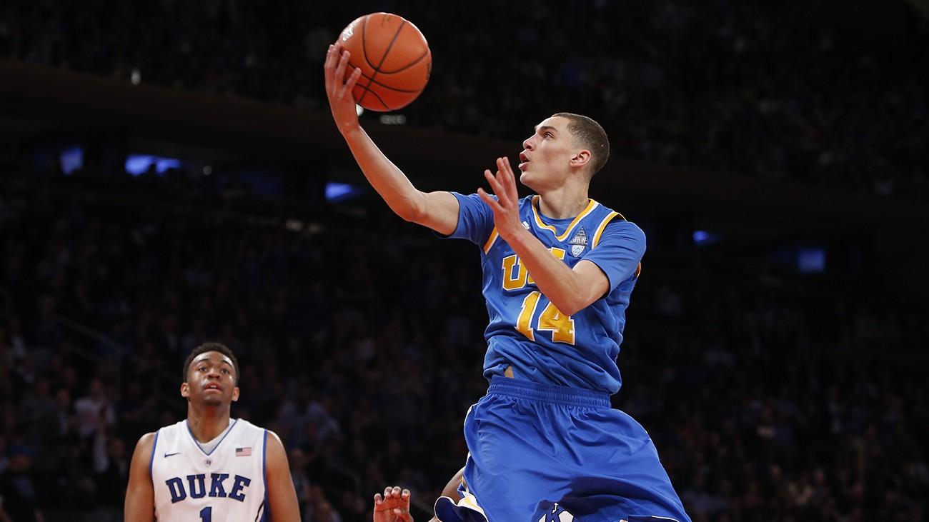 eb38082b5 Swinging on the NBA Draft Yo-Yo. Tracking the up-and-down life of UCLA  prospect Zach LaVine