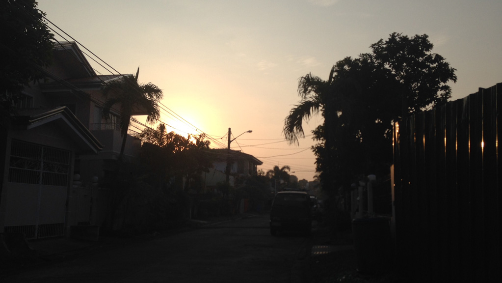 Manila-sunset