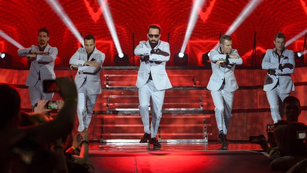 Backstreet Boys Perform At Olympiahalle