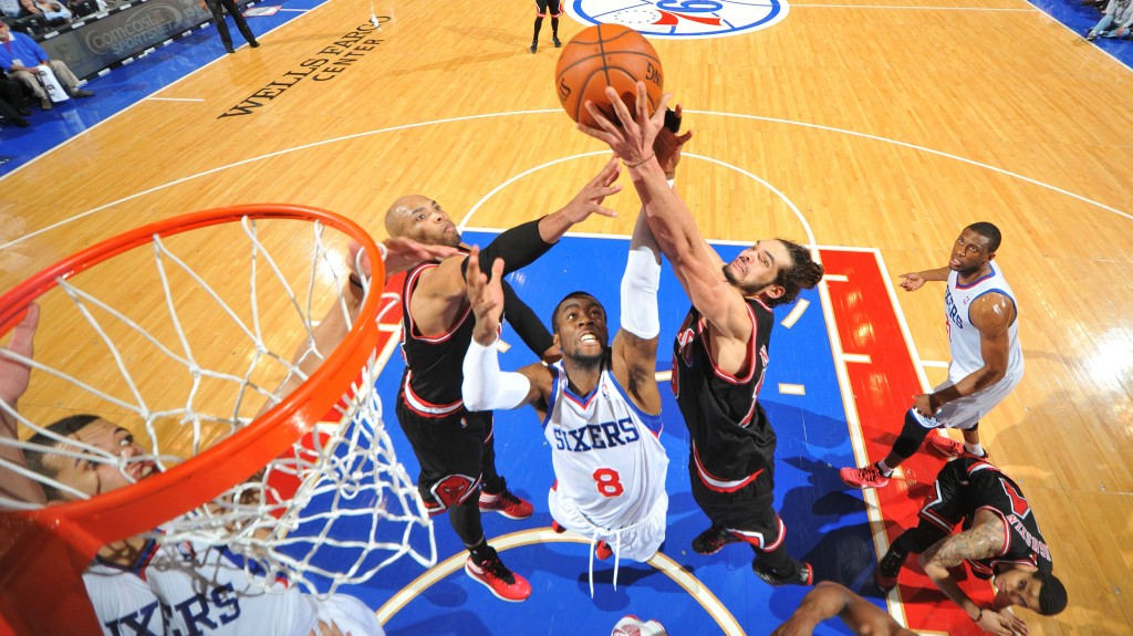 Chicago Bulls v Philadelphia 76ers
