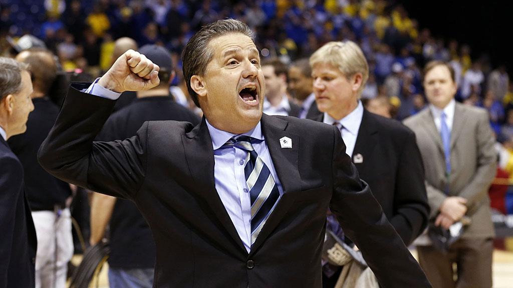 Kentucky Wildcats head coach John Calipari