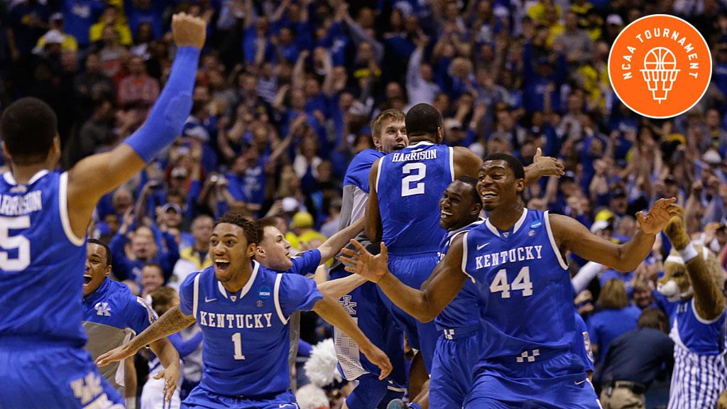 Kentucky players celebrate