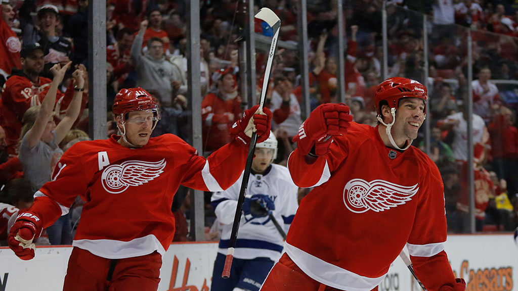 Detroit Red Wings' David Legwand