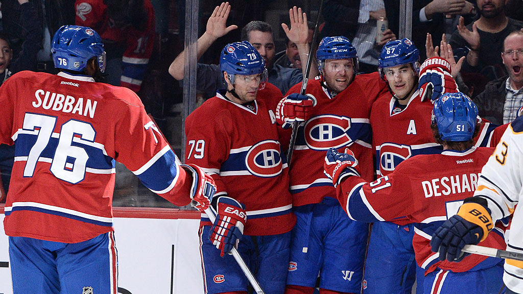 Max Pacioretty #67 of the Montreal Canadiens