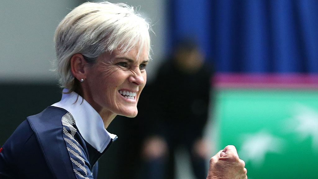 Great Britain team captain Judy Murray