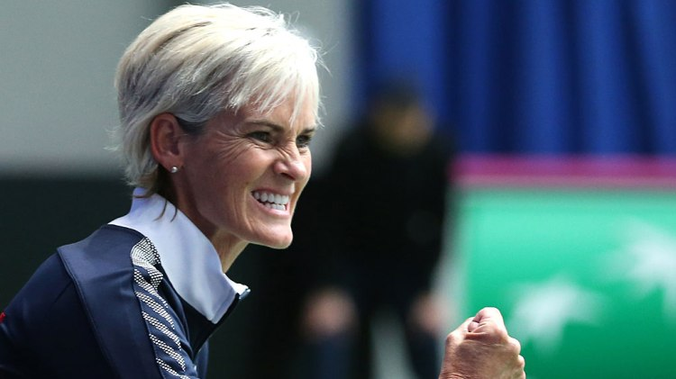 Great Britain team captain Judy Murray