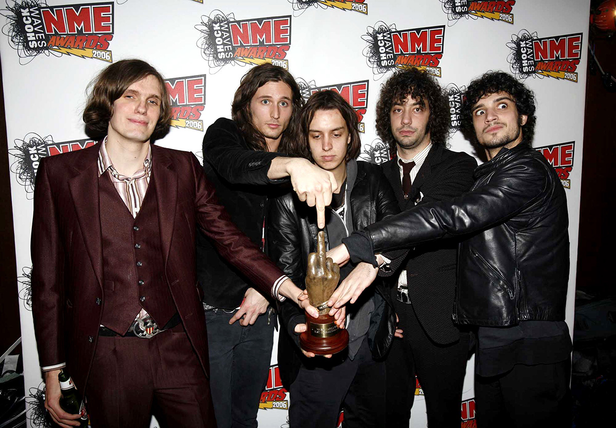 Shockwaves NME Awards 2006 - Press Room