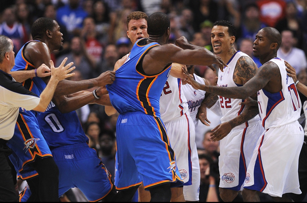 matt-barnes-thunder-fight