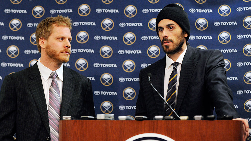 Steve Ott and Ryan Miller