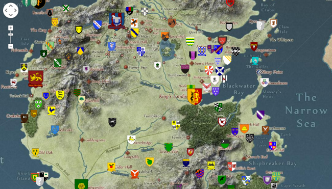 Game of Thrones' Episode 3 Precap: The Purple Wedding Reception Interactive Game Of Thrones Map on walking dead interactive map, clay county interactive map, world of warcraft interactive map, trail of tears interactive map, dishonored interactive map, germany interactive map, forgotten realms interactive map, virginia counties interactive map, lord of the rings interactive map, battle of shiloh interactive map, fire and ice book map, pathfinder interactive map, nashville interactive map, clash of kings map, whistler village interactive map, crew game map, h1z1 interactive map, ice and fire world map, virginia tech interactive map, guild wars 2 interactive map,