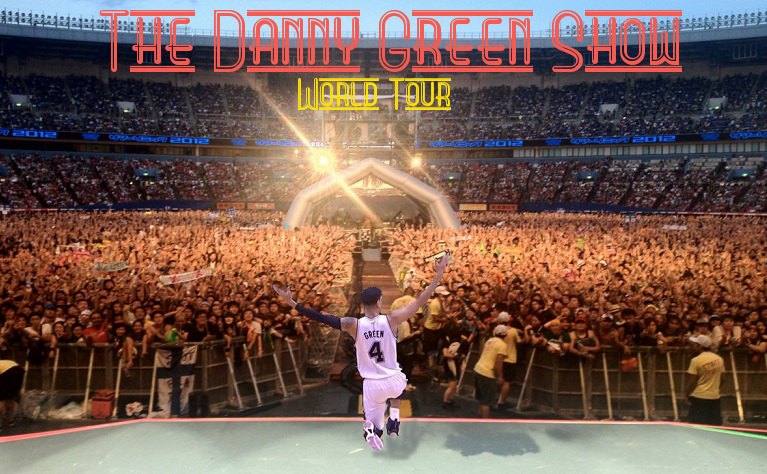 Danny Green World Tour