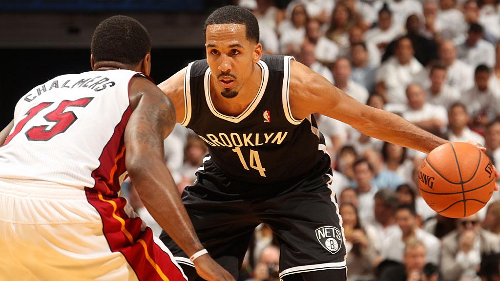 Shaun Livingston #14 of the Brooklyn Nets