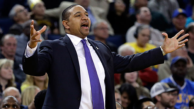 Golden State Warriors coach Mark Jackson