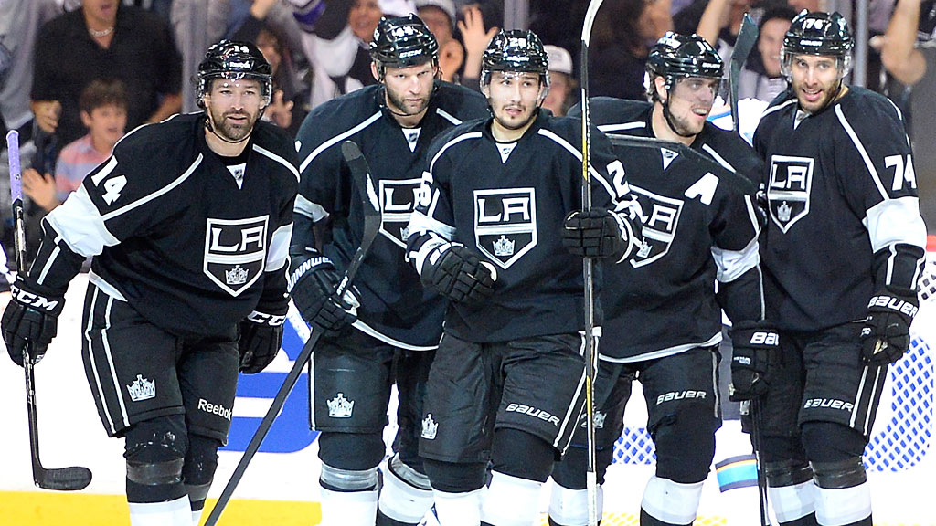 Justin Williams #14 of the Los Angeles Kings