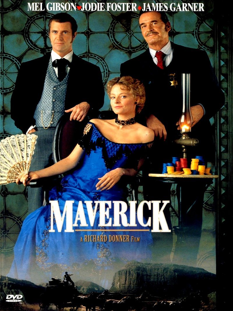 The Movies Of 1994 Mel Gibson And Jodie Foster The Odd Couple Of Maverick