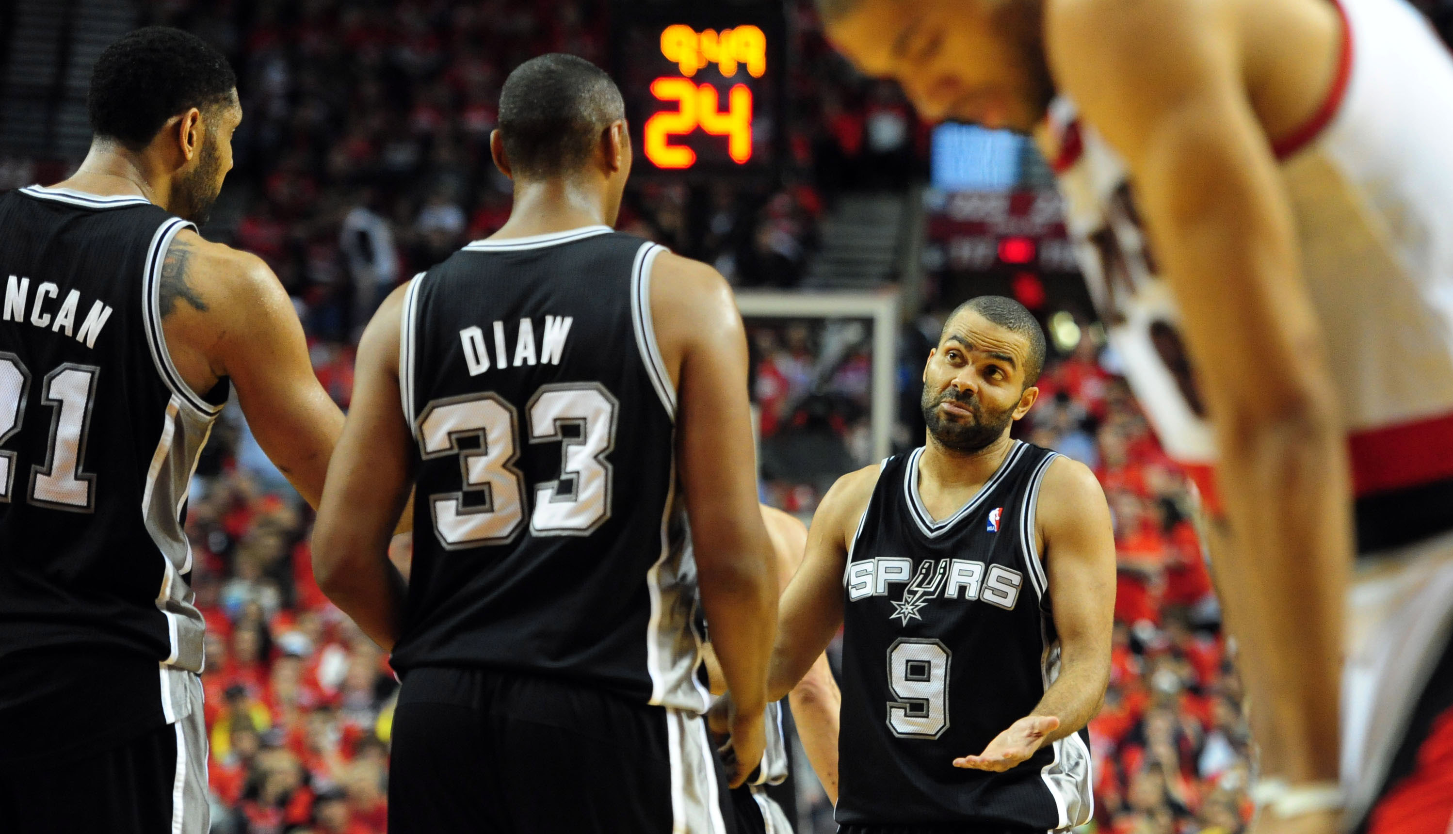 San Antonio Spurs v Portland Trail Blazers - Game Three