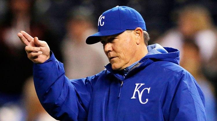 Kansas City Royals manager Ned Yost