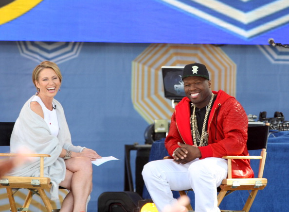 "Curtis ""50 Cent"" Jackson Performs On ABC's ""Good Morning America"""
