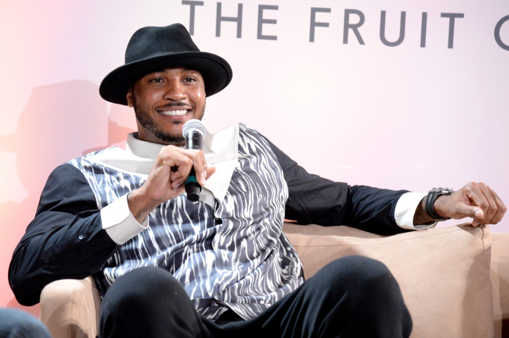 GREY GOOSE Le Melon Toasts Carmelo Anthony With Art Commissioned By Artist Kehinde Wiley