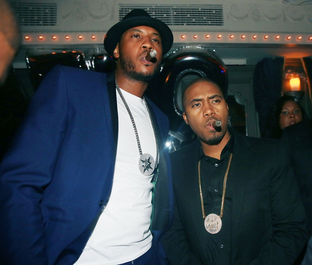 Carmelo Anthony's 30th Birthday Party