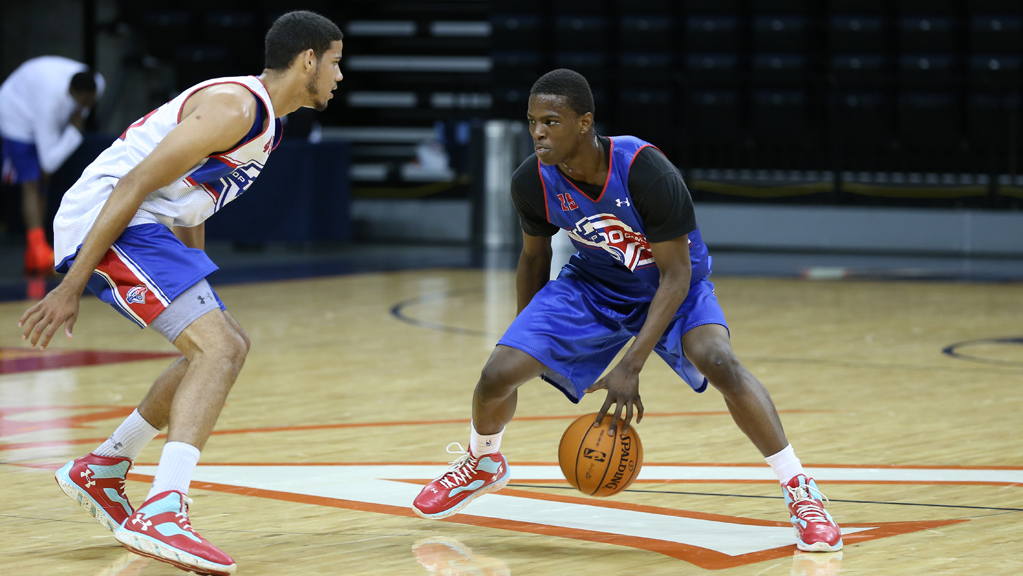 Isaiah Whitehead at the 2013 NBPA Top 100 Camp.
