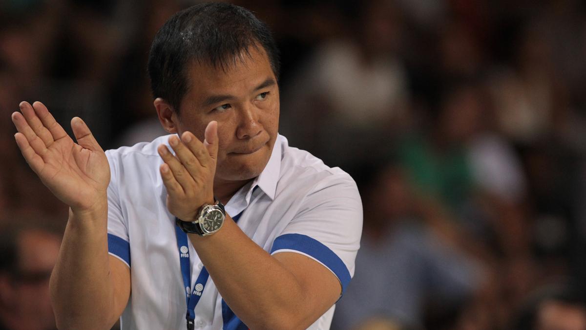 Chot Reyes, Gilas Pilipinas Head Coach