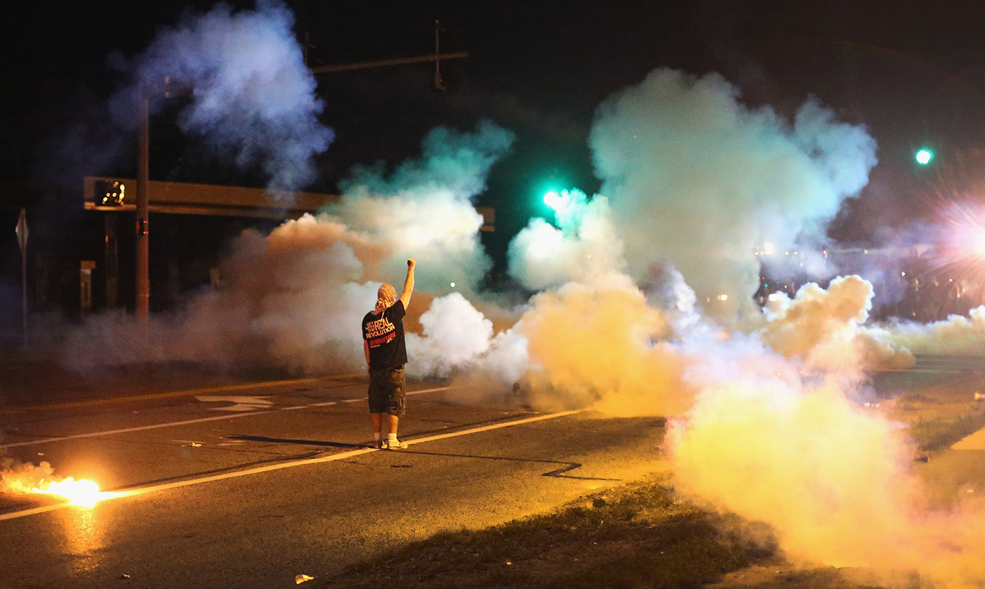 The Front Lines of Ferguson