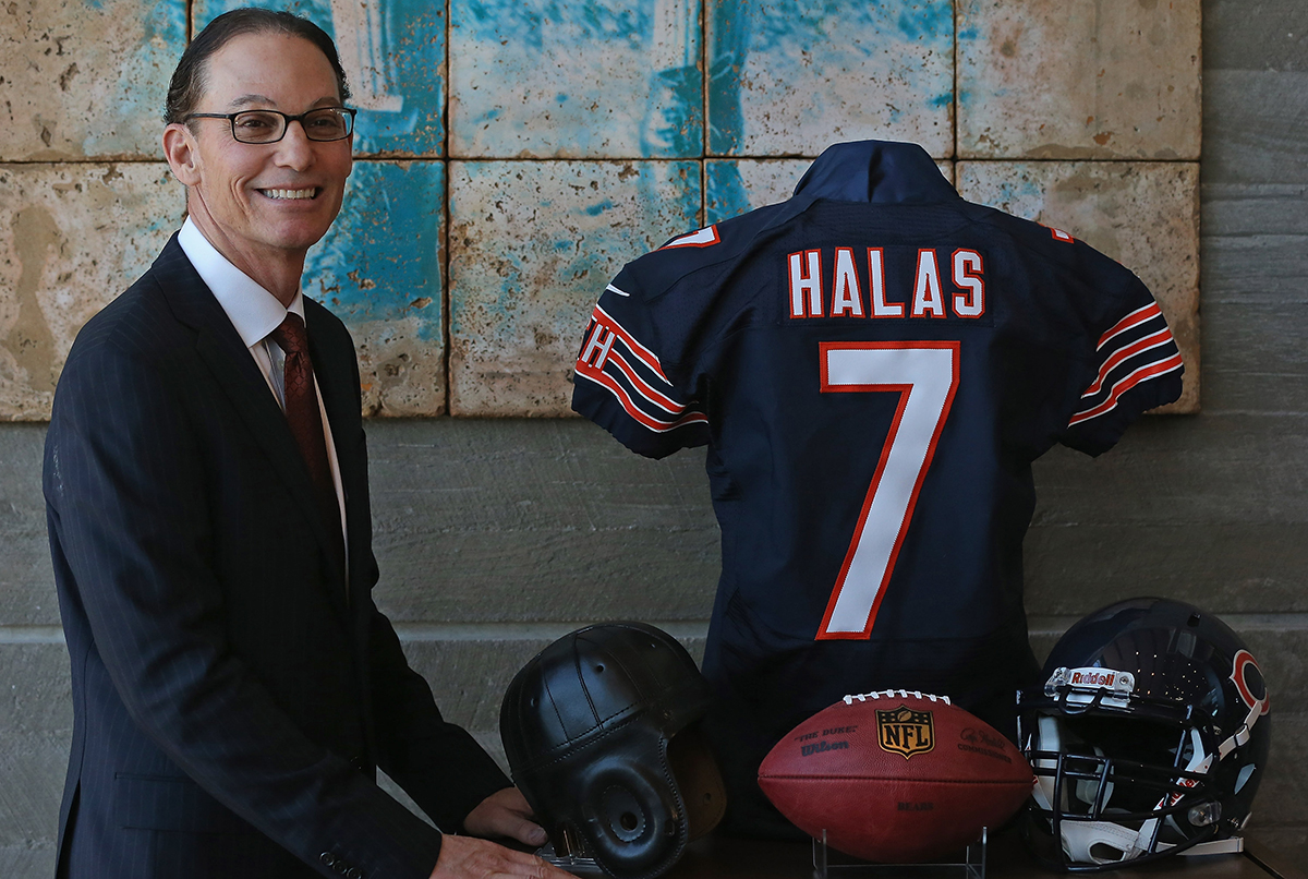 Trestman in happier days.