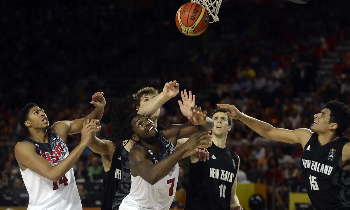 USA v New Zealand - 2014 FIBA Basketball World Cup