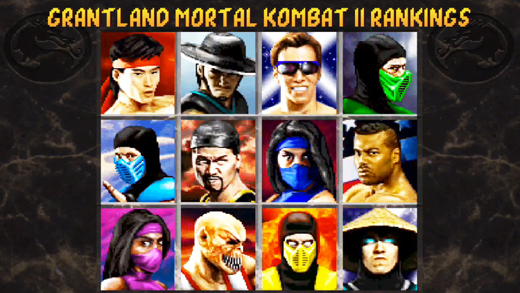 Mortal Kombat Ii 20 Years Later An Undeniable Character Ranking