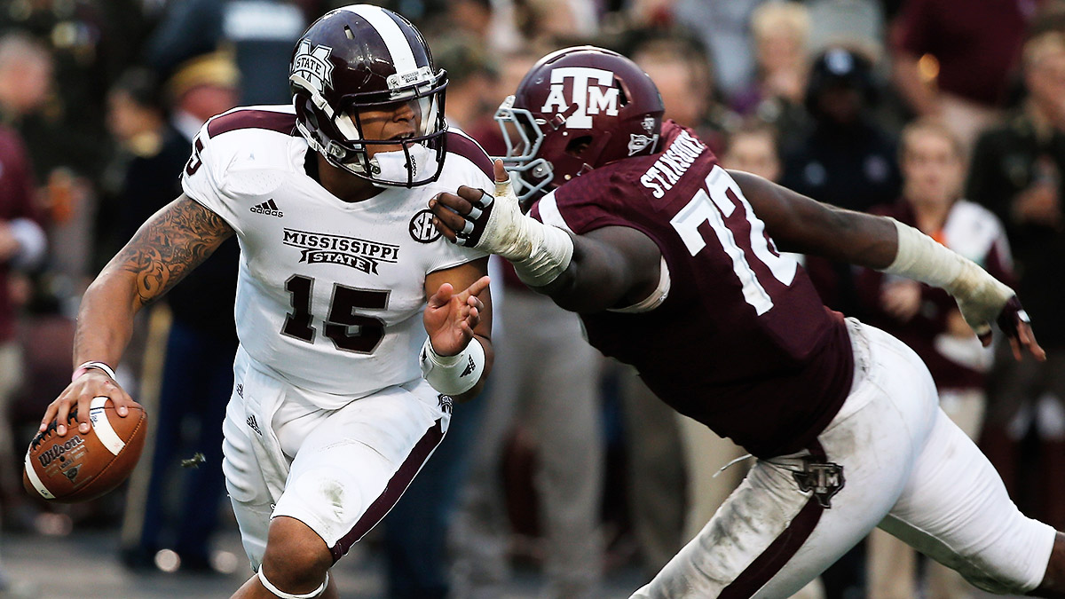 Mississippi State has a Heisman Trophy front-runner in Dak Prescott, but just a 0.4 percent chance of winning the SEC, according to ESPN's Football Power Index.