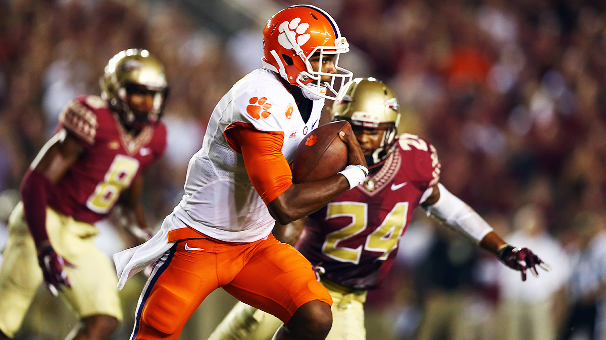 Clemson's Deshaun Watson is poised to make the leap from promising player to full-blown star.