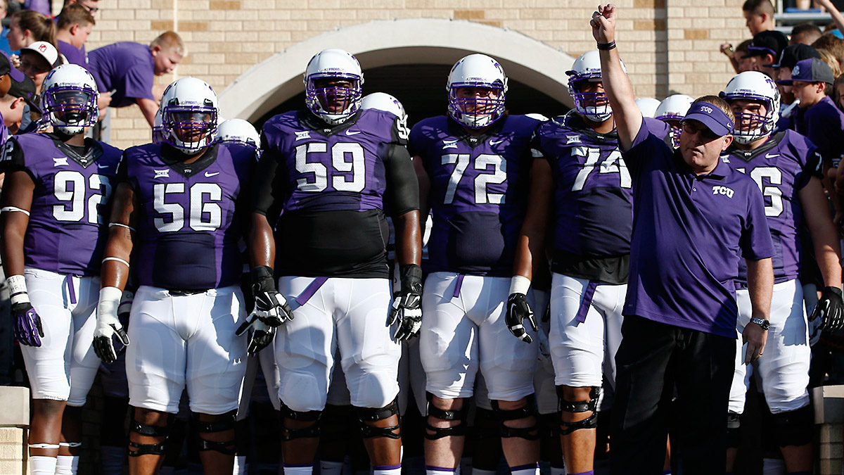 Gary Patterson will have to rely on an usual number of inexperienced defensive starters in 2015.