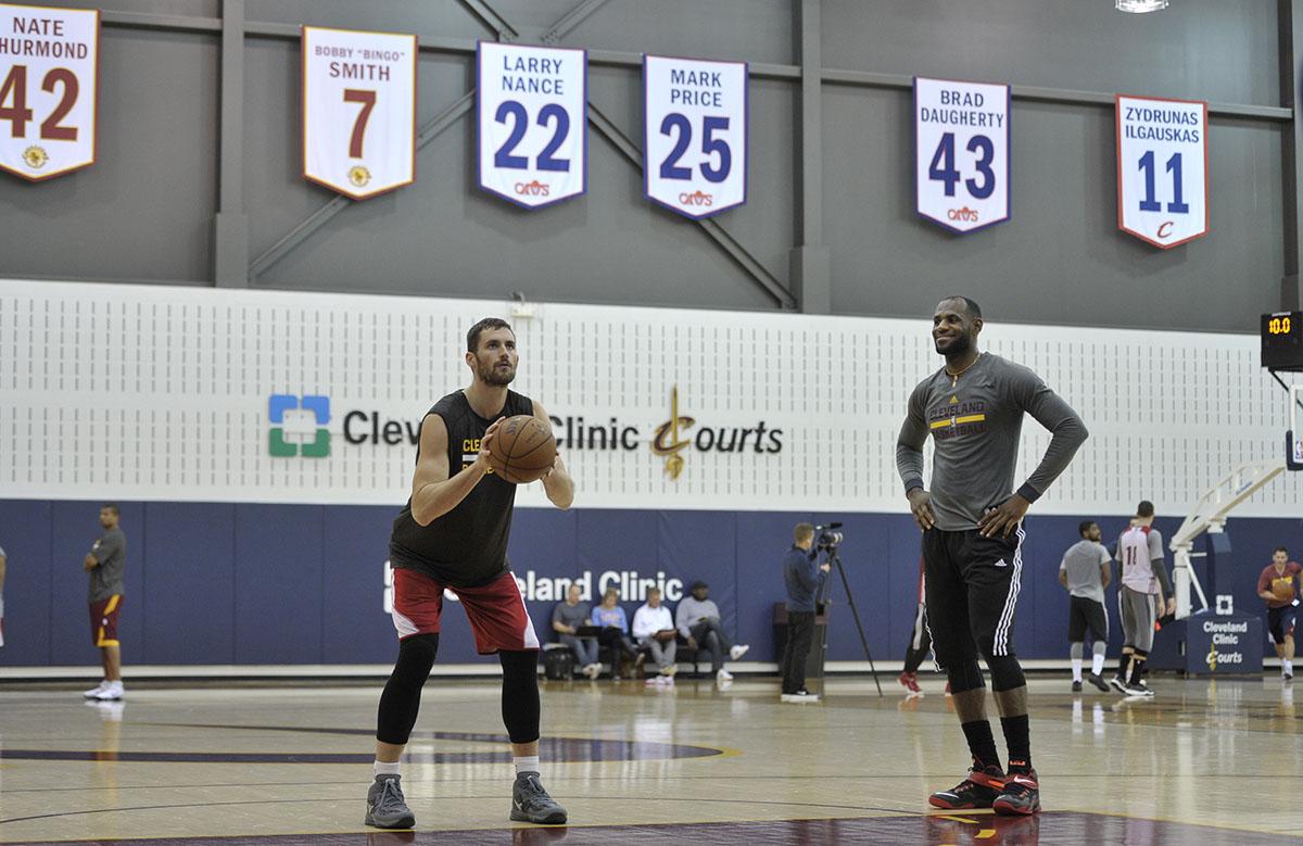 Cleveland Cavalier's Practice