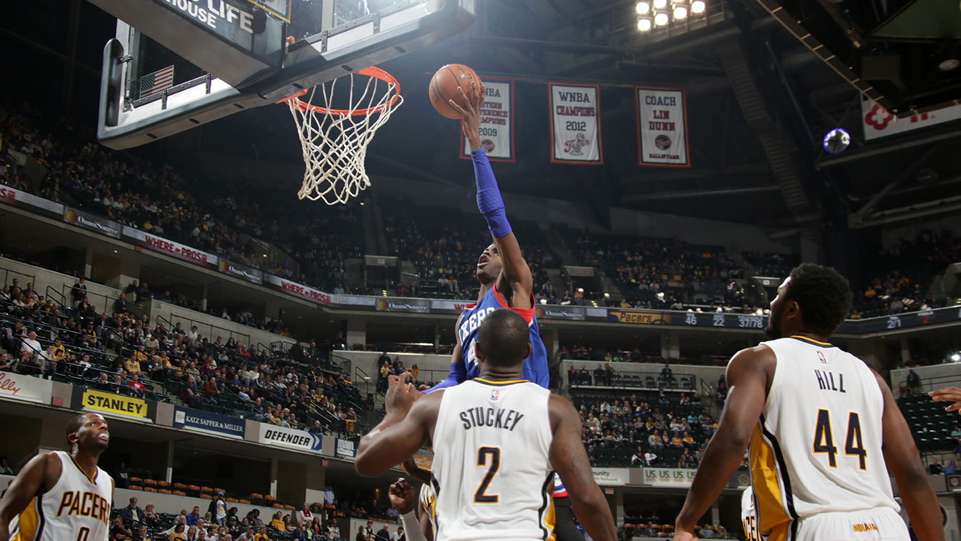 Philadelphia 76ers v Indiana Pacers