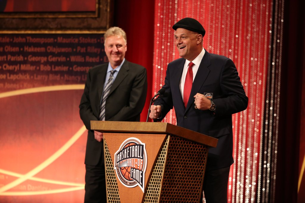Basketball Hall of Fame Enshrinement Ceremony