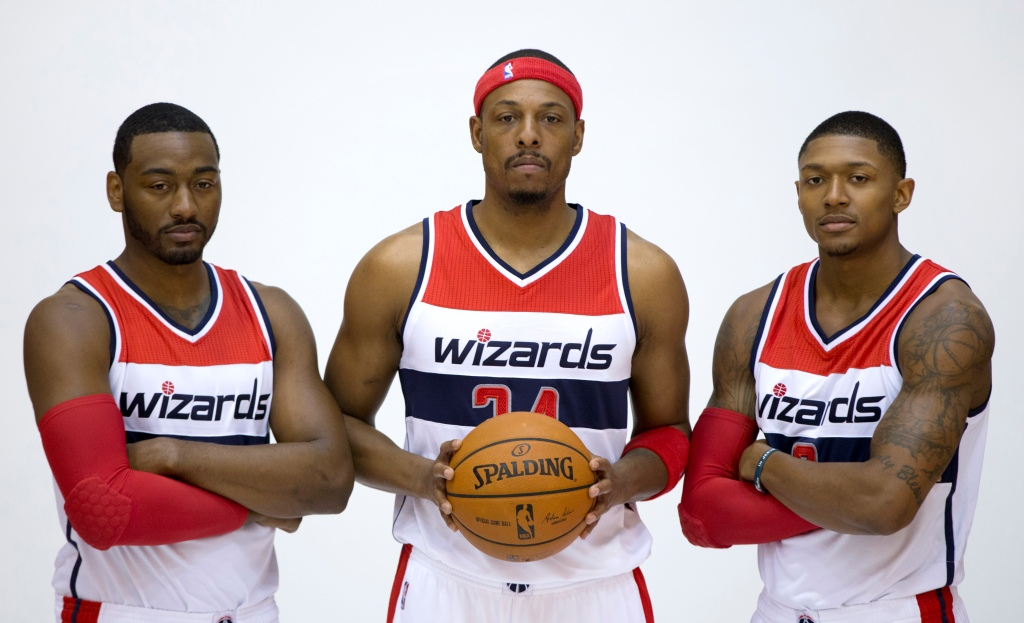 Bradley Beal, Paul Pierce, John Wall