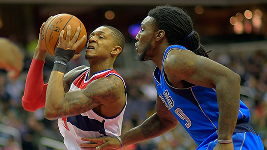 The Washington Wizards play the Dallas Mavericks
