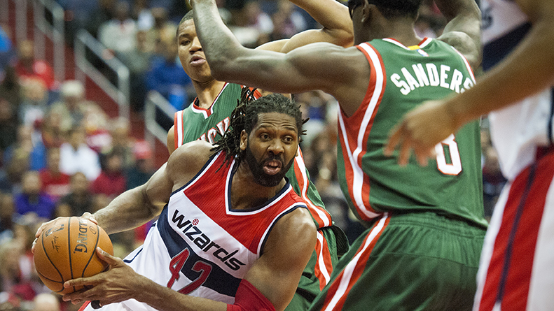 Washington Wizards vs. Milwaukee Bucks in the home opener