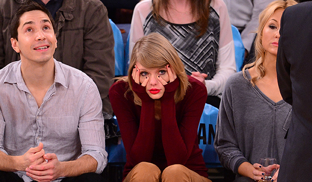 Celebrities Attend The Orlando Magic Vs New York Knicks Game - November 12, 2014