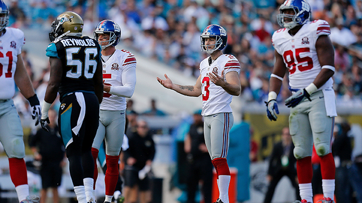 New York Giants v Jacksonville Jaguars