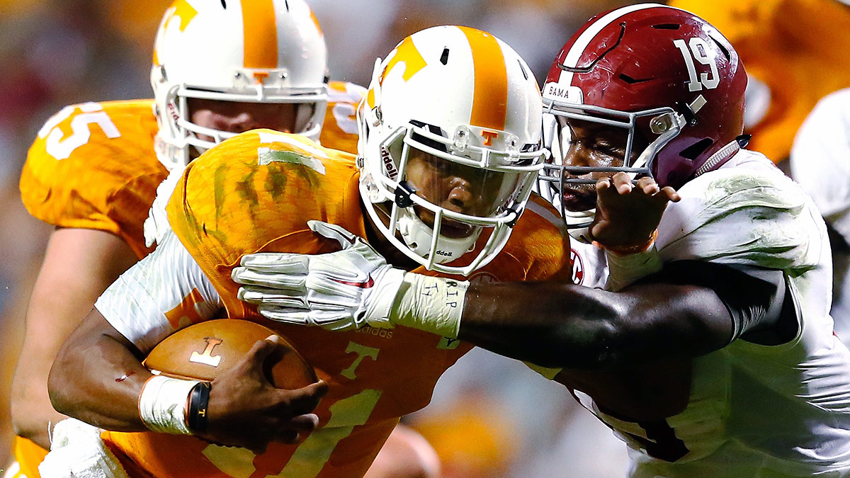 Josh Dobbs and Tennessee opened eyes late last season and could contend in the SEC East in 2015.