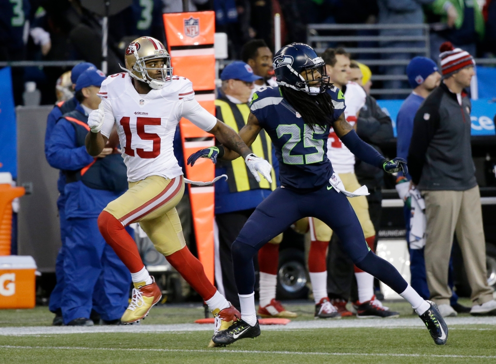 Richard Sherman, Michael Crabtree